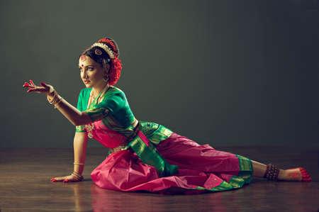 Indiase klassieke dans Stockfoto