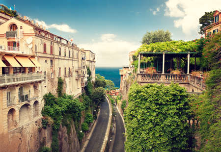 hotel building: Sorrento place Italy