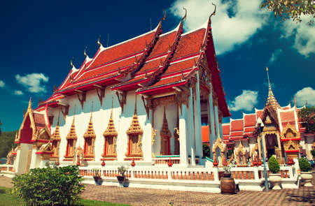 Chalong Temple in Phuket, Thailand