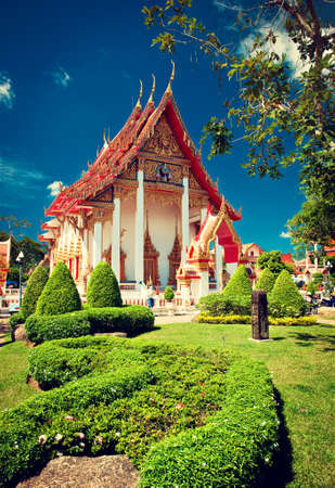 chalong: Chalong Temple in Phuket, Thailand