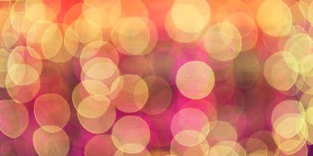 gleams: Glare. Out of focus multicolored spots of light. Boke.