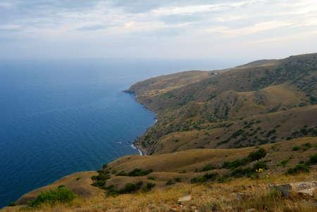 sudak: Crimea  Sudak  View from Mount Kokush-kai