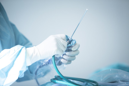 外傷整形外科病院緊急手術室鏡操作写真のために準備します。 写真素材 - 46425563