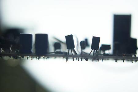 circuito electrico: Circuito eléctrico placa electrónica foto