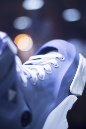 rollerskates: Aggressive inline free skates inline rollerskates for skating, jumps, tricks and urban skating Stock Photo