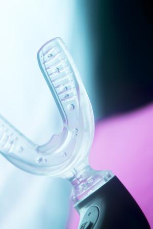 Bracket dental aligner electric orthodontic straightener accelerator device.