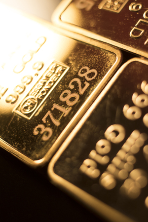 Credit Suisse ine solid gold 999.9 one ounce bullion ingot precious metals bar