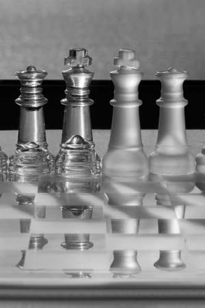 amalgamate: Chess Pieces - Business Concept - CEO, directors, management, power, survive