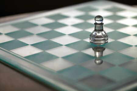 Pawn chess piece - business concept series - small business growth, survive, struggle, strategy, win  Stock Photo - 16436120