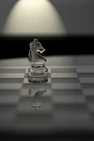 Knight Chess Piece - Business Concept Series: original, thinking, sideways, strategy, innovation. photo