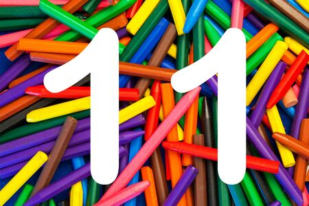 11 number: 11 - fun number series for kids