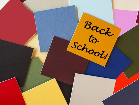 Back to School Sign for Education   Stock Photo - 19820169