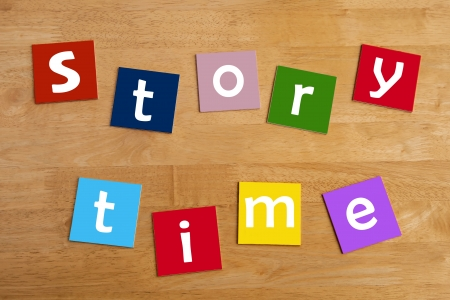 story time - lower case letters for school children - education   learning  photo