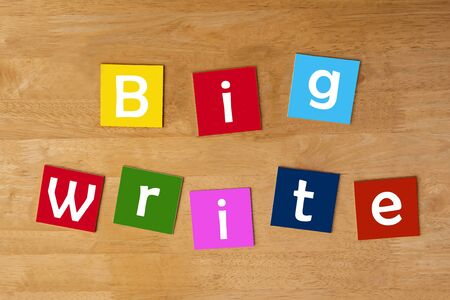 learning series: Big Write - famous teaching method - education   learning series for schools   teaching