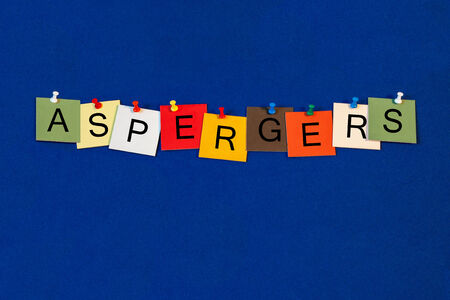 Aspergers, sign series for Aspergers Syndrome, cognitive beahviour, Autism Spectrum.