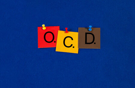 OCD, obsessive compulsive disorder, sign for health care