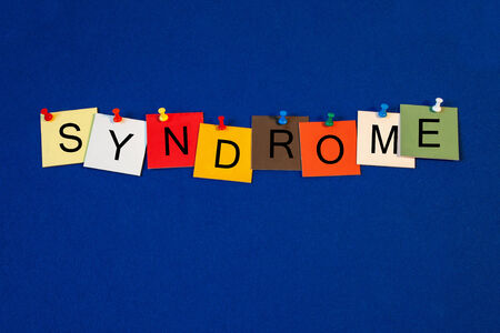 asperger syndrome: Syndrome, sign series for medicine, science, psychology and psychiatry.