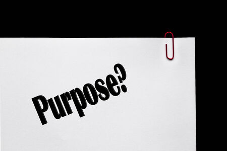 Purpose, sign series for business entrepreneurs, originality, innovation concept and invention.