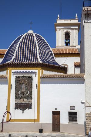 balcon: Architecture at the Balcon del Mediterraneo, Benidorm, Spain.