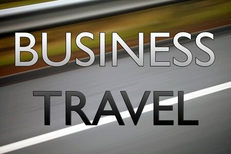business meeting: Business Travel - sign for business trips, business travel and business meetings.