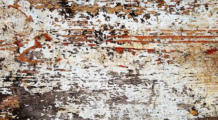 flaking: Flaking or peeling paint as a grunge background texture. Stock Photo