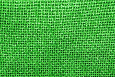 canvass: Bright green woven material  textile background texture - large file.