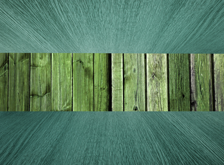 diminishing: Natural wood background or backdrop, pastel greens, diminishing perspective, for your design.