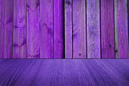 diminishing: Purple  pink wood backdrop, background design, with diminishing perspective  blur  motion effect. Stock Photo