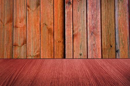 diminishing perspective: Red  Orange wood backdrop, background design, with diminishing perspective  blur  motion effect.