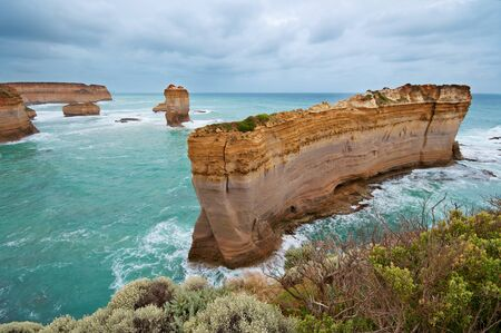 The Razorback, Great Ocean Road, Australia photo