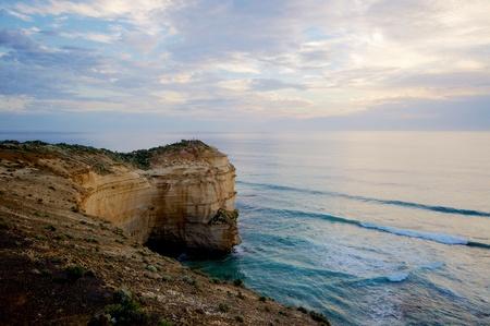 Rock formation at Great Ocean Road, Australia photo