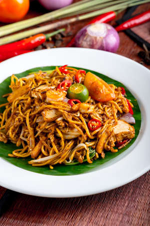 stir fried noodle Mamak style Stock Photo - 51986423