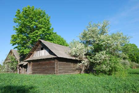 Old village house Stock Photo - 9857659