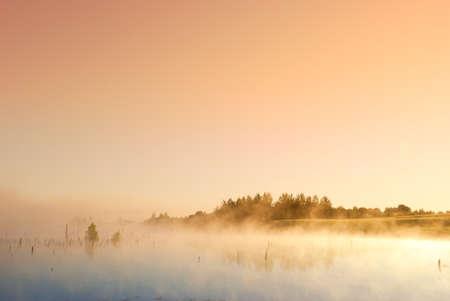 morning sunrise on the marsh