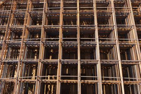 armature: steel building armature background