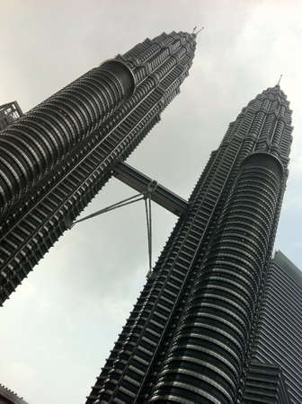 architecture: Malaysias Petronas Twin Tower Stock Photo