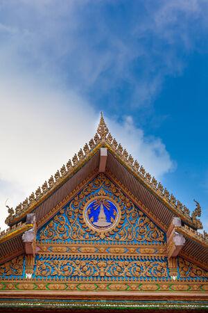 ancient pagodas Wat Pha Tas Sri Song Ruk temple  Banque d'images