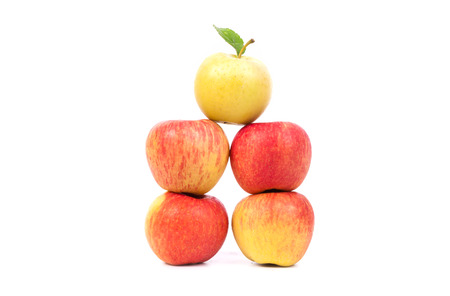 apples isolated Banque d'images