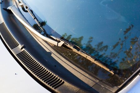 windshield wipers for cars Banque d'images