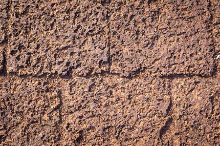 stratified: bedrock background texture Stock Photo