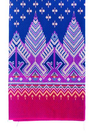 Texture of Thai silk pattern, Thailand textile