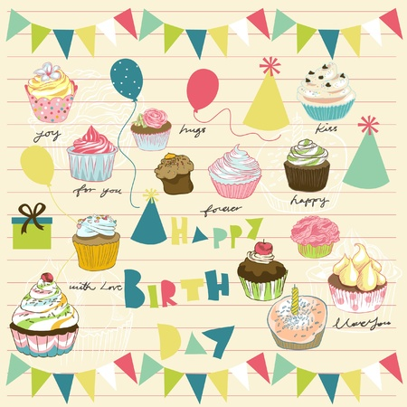 scrap booking: party elements