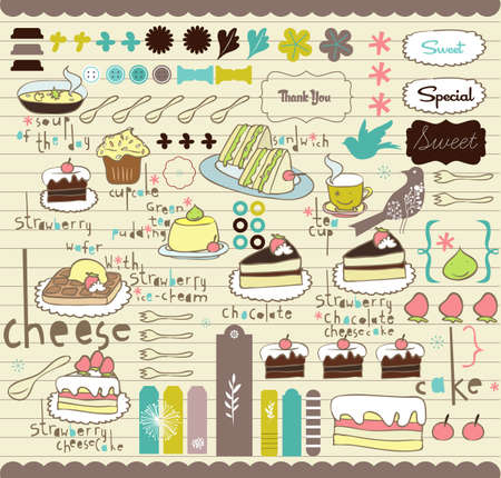 party card stickers and tags Vector
