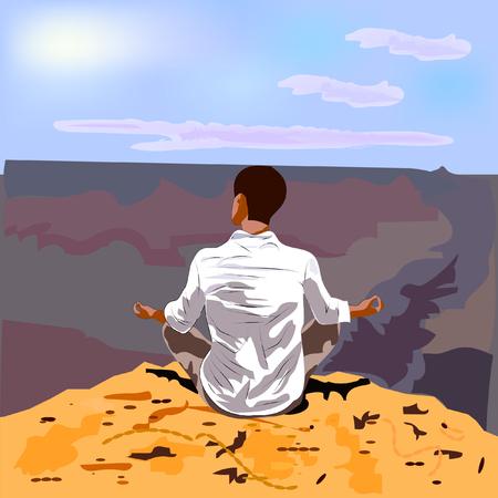 grand canyon: Meditation