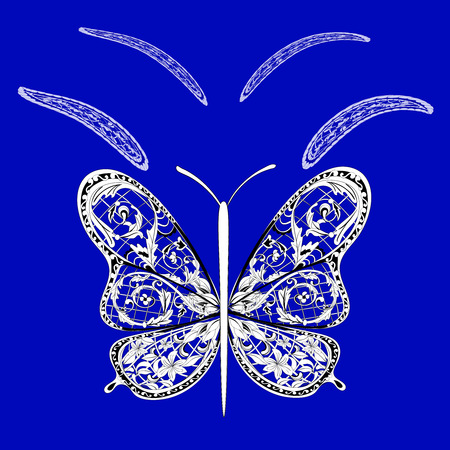 fantasy: fantasy butterfly Illustration