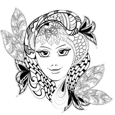 gir: fantasy flower gir