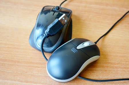 profesional: Mouse double double for profesional working  Stock Photo