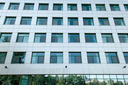 크고 현대 오피스 빌딩 새로운 아키텍처