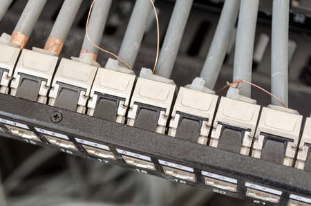 patch panel: Patch cord panel - in work progres