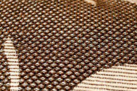 linen texture: Brown linen texture closeup